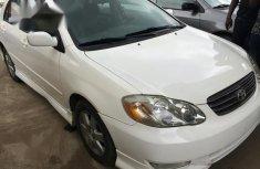 Toyota Corolla 2004 S White for sale