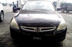 Sharp used black 2007 Honda Accord sedan car at attractive price