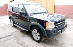Well maintained black 2006 Land Rover LR3 suv for sale in Ikeja