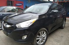 Sell cheap black 2012 Hyundai Tucson at mileage 62,314 in Lagos