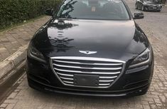 Hyundai Genesis 2015 Black for sale