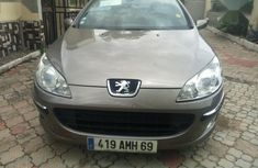 Brown 2005 Peugeot 407 car at attractive price in Lagos