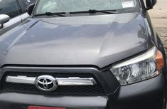 Sell cheap grey 2013 Toyota 4-Runner automatic