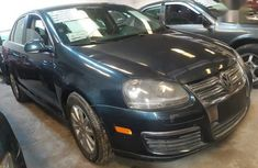 Black 2006 Volkswagen Jetta for sale at price ₦505,000