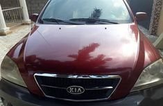 Kia Sorento 2005 3.5 V6 EX Red color for sale