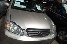 Toyota Corolla 2004 Gray color for sale