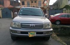 Selling beige 2006 Toyota Land Cruiser in Ikeja