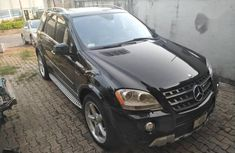 Well maintained black 2008 Mercedes-Benz M-Class suv for sale in Ikeja