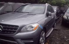 Mercedes-Benz M Class 2012 Gray for sale