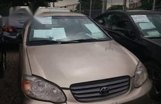 Toyota Corolla 2004 Gold color for sale