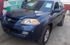 Used blue 2004 Acura MDX suv automatic for sale