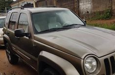 Sell gold 2004 Jeep Liberty automatic at cheap price