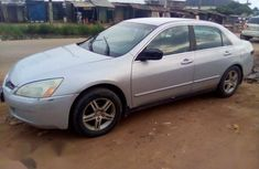 Sell cheap grey 2003 Honda Accord automatic