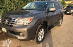 Best priced beige 2011 Lexus GX suv automatic in Lagos
