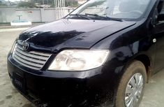 Sell well kept black 2007 Toyota Corolla manual at price ₦600,000