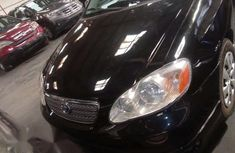 Toyota Corolla 2008 Black color for sale
