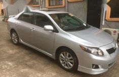 Well maintained grey 2010 Toyota Corolla sedan for sale in Lagos