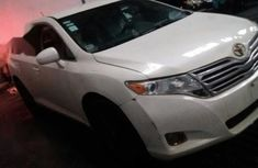 White 2012 Toyota Venza car at attractive price in Lagos