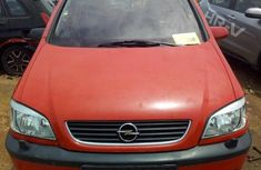 Sell used red 2004 Opel Zafira at mileage 24,566