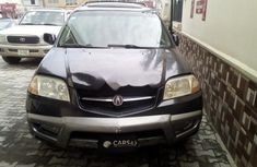 Best priced grey 2001 Acura MDX in Lagos