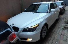 Sell used white 2007 BMW 528i sedan automatic