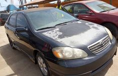 Used black 2006 Toyota Corolla automatic for sale in Lagos