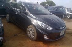 Black 2012 Hyundai Accent automatic at mileage 49,872 for sale in Lagos