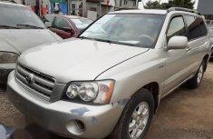Toyota Highlander 2002 Silver for sale