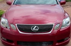 Sell red 2006 Lexus GS at mileage 87,000 in Abuja at cheap price