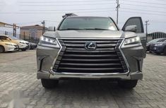 Need to sell high quality grey 2016 Lexus LX automatic at mileage 50,000