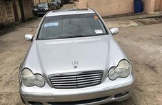 Clean grey/silver 2003 Mercedes-Benz C240 automatic car at attractive price