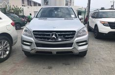 Sell well kept 2012 Mercedes-Benz ML350 automatic in Lagos
