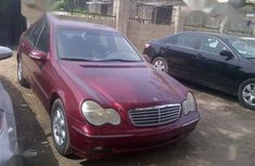 2001 Mercedes-Benz C180 sedan automatic for sale at price ₦1,870,000 in Lagos