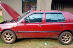 Very sharp neat red 1999 Volkswagen Golf automatic for sale