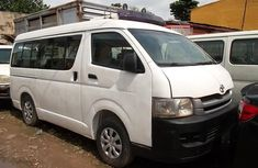 Sharp white 2008 Toyota HiAce van manual for sale