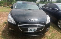 Best priced black 2013 Peugeot 508 at mileage 111 in Abuja