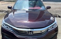 Used red 2016 Honda Accord car automatic at attractive price