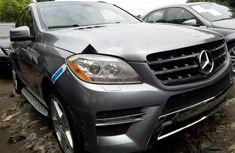 Sell grey 2013 Mercedes-Benz ML350 automatic at price ₦10,000,000 in Lagos