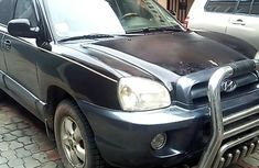 Sell used black 2006 Hyundai Santa Fe suv at price ₦831,347