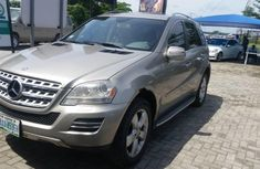 Well maintained 2010 Mercedes-Benz ML350 automatic for sale at price ₦4,900,000