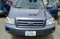 Toyota Highlander Limited V6 4x4 2006 Blue color for sale