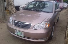 Clean and neat beige 2004 Toyota Corolla sedan at price ₦1,350,000 in Lagos