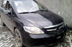 Black 2008 Honda City for sale at price ₦732,097 in Lagos