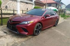 Sell red 2018 Toyota Camry automatic at price ₦17,000,000 in Lagos
