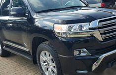 Used black 2017 Toyota Land Cruiser car automatic at attractive price