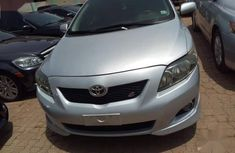 Grey 2009 Toyota Corolla for sale at price ₦2,490,000 in Kaduna
