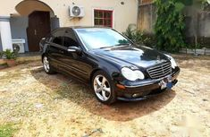 Well maintained black 2006 Mercedes-Benz C230 automatic for sale in Kaduna