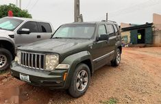 Sparkling green 2008 Jeep Liberty for sale
