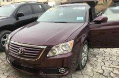 Sell cheap purple 2008 Toyota Avalon sedan automatic in Lagos
