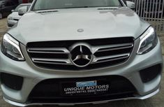 Sell well kept grey 2015 Mercedes-Benz GLE suv automatic in Lagos